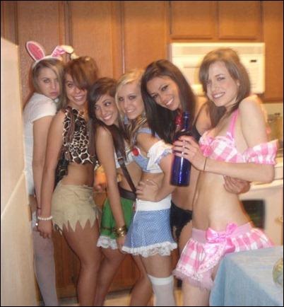 Групповые фото сексуальных девушек