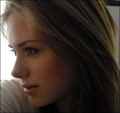 Красивые лица девушек