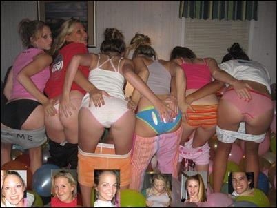 Групповые фотографии голых девчонок