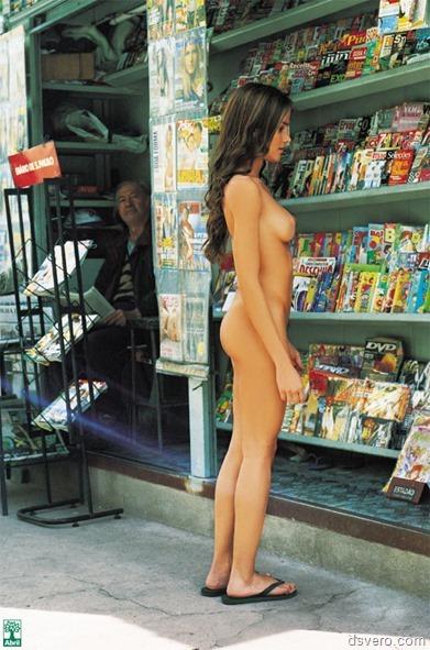 Эксгибиционизм или голые на людях