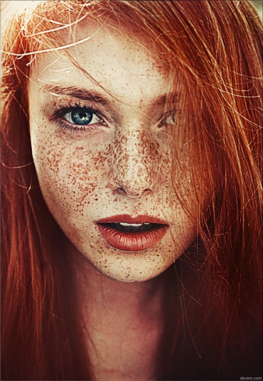 Рыжие конопатые девушки 29 фотография