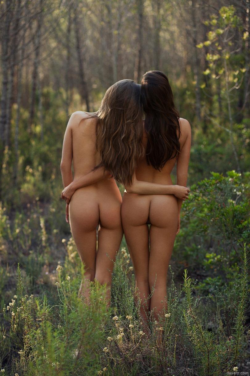 Фото красивых девушек со спины ню 6 фотография