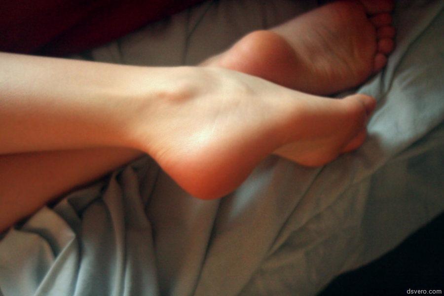 Фото женской ступни