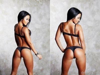Красота спортивного женского тела