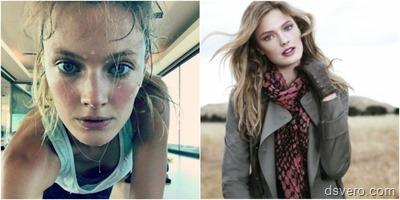 Модели Victoria's Secret без макияжа