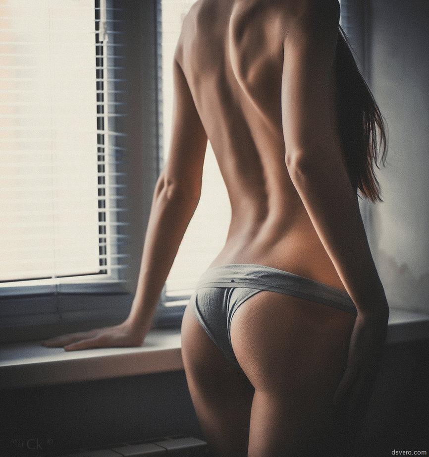 Фото девушек со спины попа 6 фотография