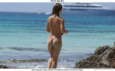 Голые девушки на пляжах, подсмотр