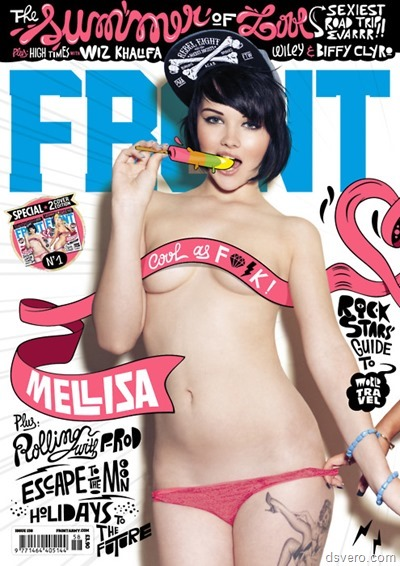 Mellisa Clarke для журнала Front (army)