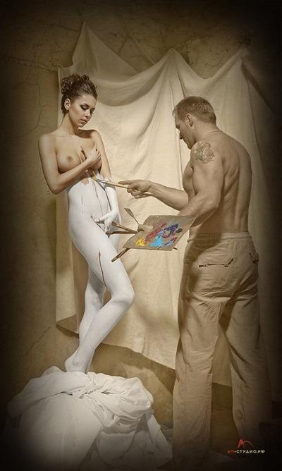 Алексей Матвеев и его эротика