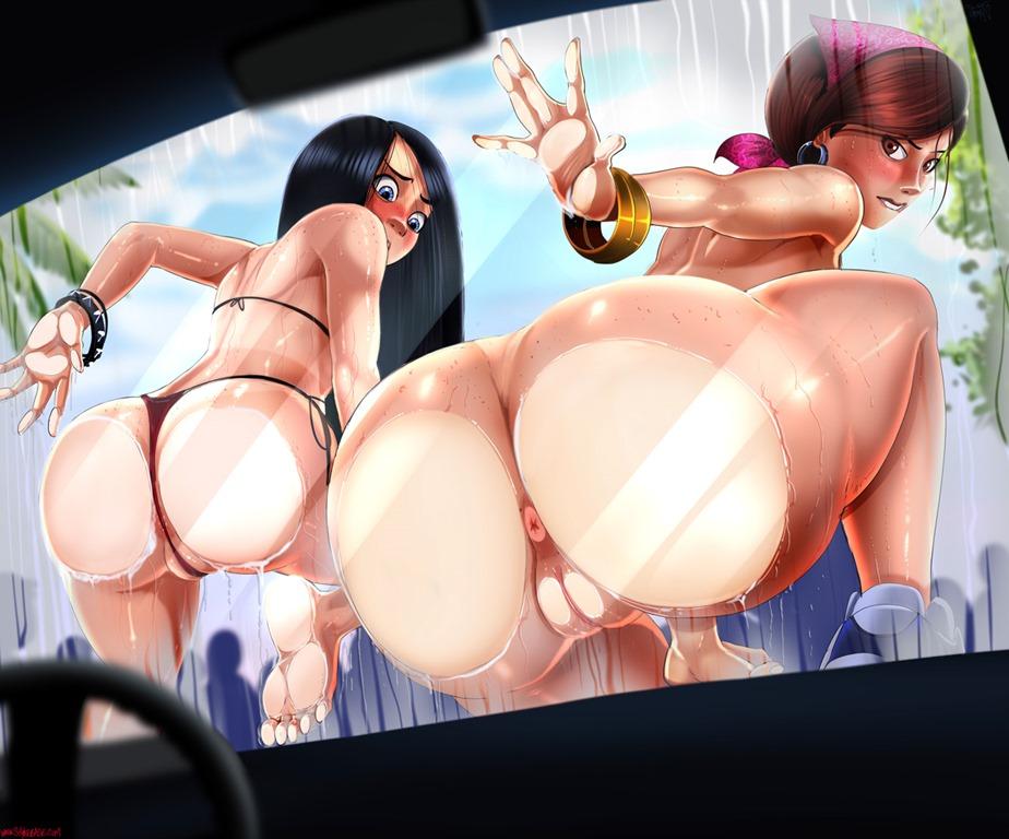 Порно Мультик Большая Попа