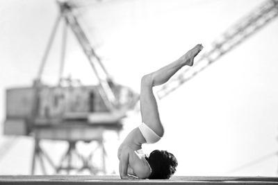 Акробатическое ню от Acey Harper