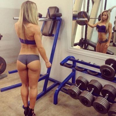 Сексуальный спорт и стройные девушки