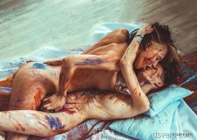 Лесбийская любовь в фотографиях