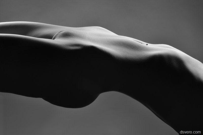 Идеальное Обнаженное Женское Тело