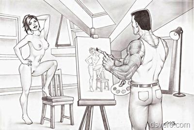 Голые рисунки