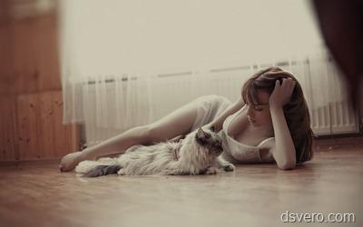 Девушки и животные