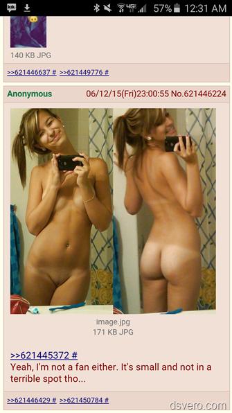 Селфи голых и молодых девушек