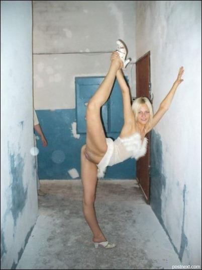 Сексуальные гимнастки