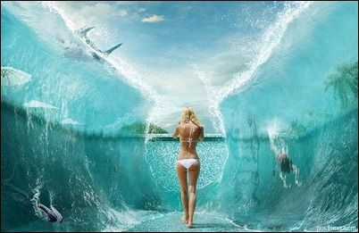 Море, солнце, лето, голые девушки