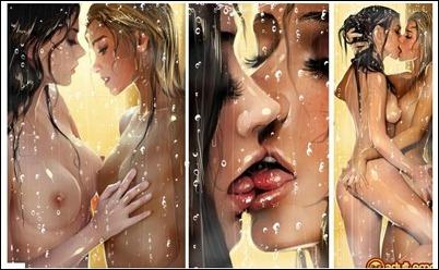 Нарисованная эротика