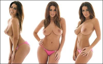 Потрясающе красивая голая девушка