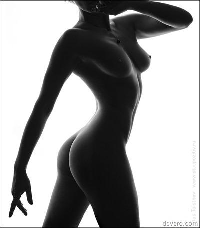 Ч/Б Ню: Эротика в черно-белом виде