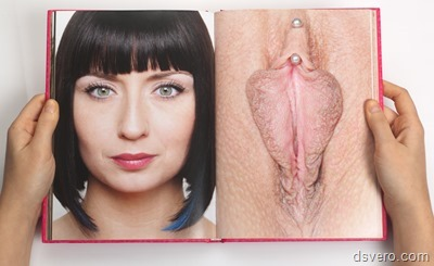 Лица девушек и их голые письки