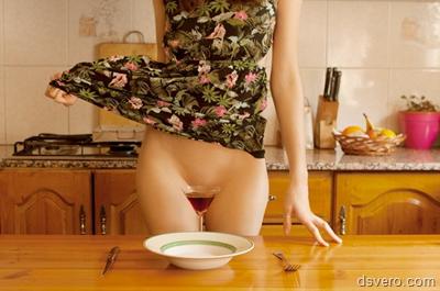 Фотографии голых девушек на кухне