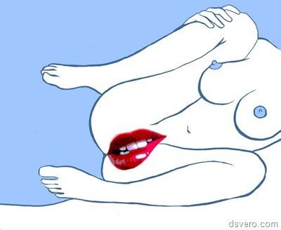 Сексуальные рисунки с девушками
