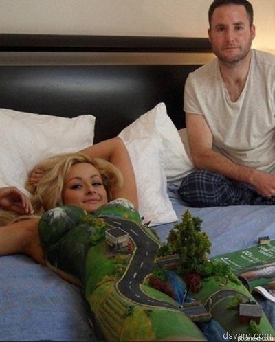 Необычные эротические фотографии