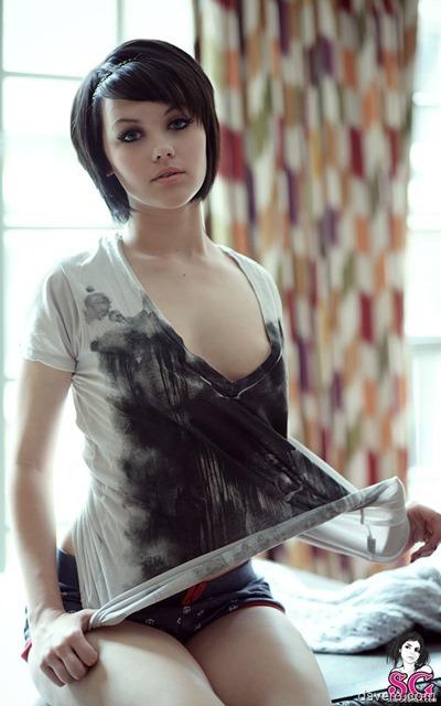 Красивая девушка Melissa Clarke