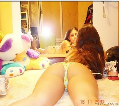 Частные фотки сексуальной девушки