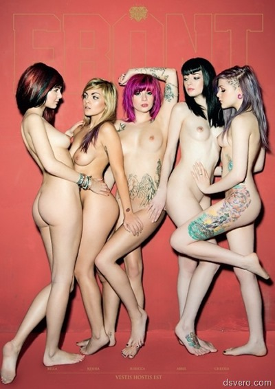 Голые красивые девушки в разных позах