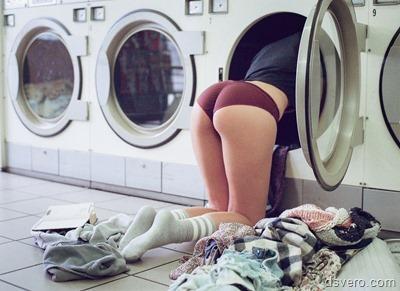 Женская попка из стиральной машинки