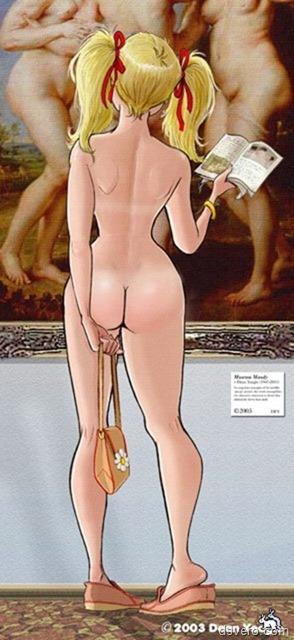 Эро рисунки, голые мультяшки