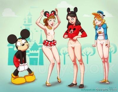Голые мультики. Обнаженный Disney.