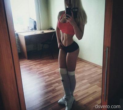 Селфи девушек в нижнем белье