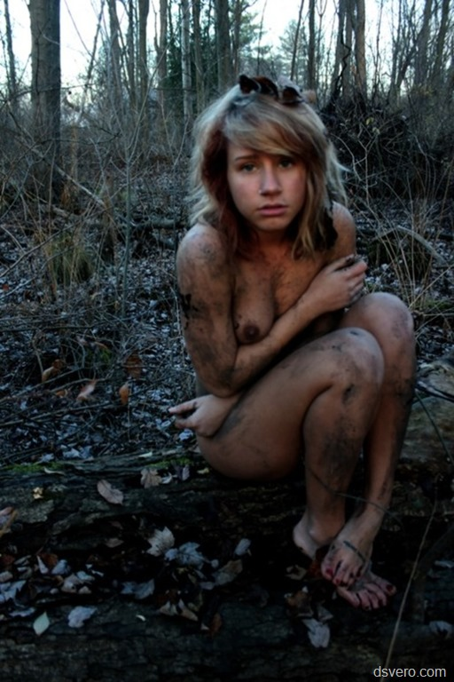 Homeless naked young girls
